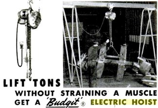 budgit hoist historic