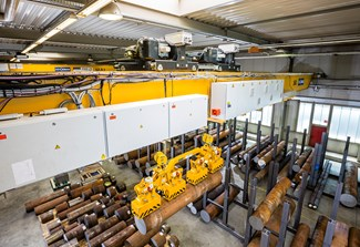 STAHL CraneSystems Crane for Metal Production
