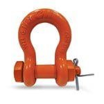 CM Rigging Shackles SS Anchor Bolt Nut Cotter Painted Image